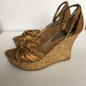 Fiona wedge shoes size 5.5